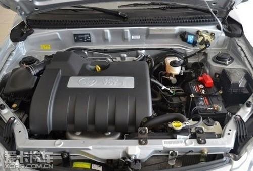 动力方面,夏利N5搭载了全新研发的CA4GA1发动机.1.0L和1.3L两高清图片