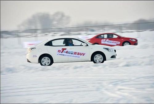 广汽传祺2014年哈尔滨冰雪试驾盛大开启