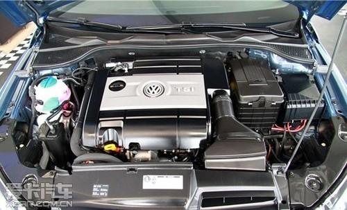 与发动机匹配的是一款6速dsg双离合变速箱.图片
