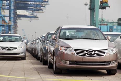 沙港出口国外的传祺车-广汽传祺海外初具规模 世界级品质获肯定