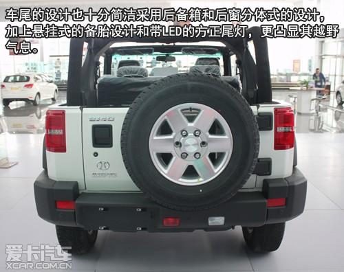 赤峰北京汽车BJ40新车到店爱卡实拍