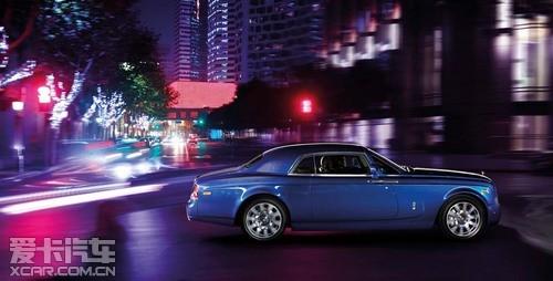 劳斯莱斯汽车 幻影系列之奢华品牌定位高清图片