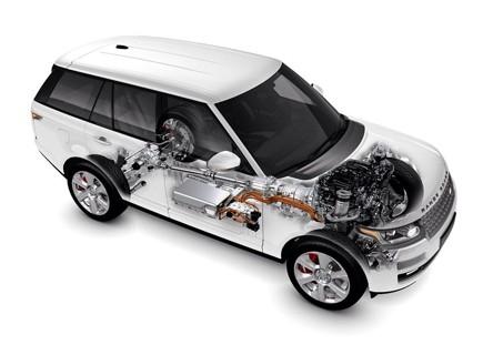 路虎发布全球首款柴油混合动力豪华 SUV高清图片