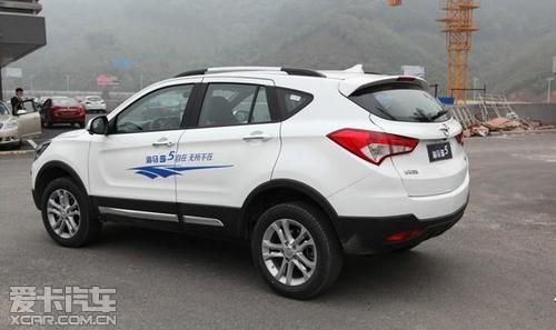 新智驱SUV海马S5各项功能详解高清图片