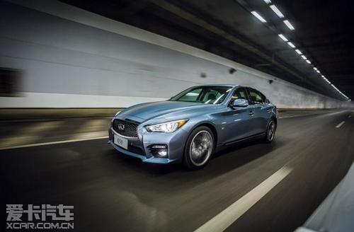 权威挑战者 英菲尼迪q50代言豪华轿车 高清图片