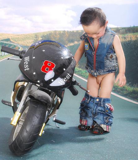 六一儿童节为宝宝定制专属车模时尚大片