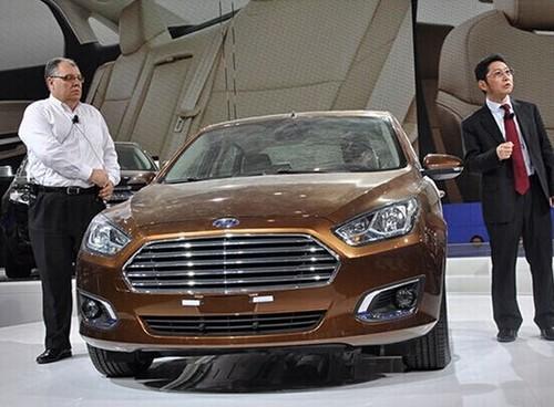 长安福特福瑞斯新车型-预计2014年上市
