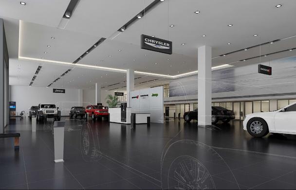 锡城首家全新标准克莱斯勒4s店即将开业 高清图片