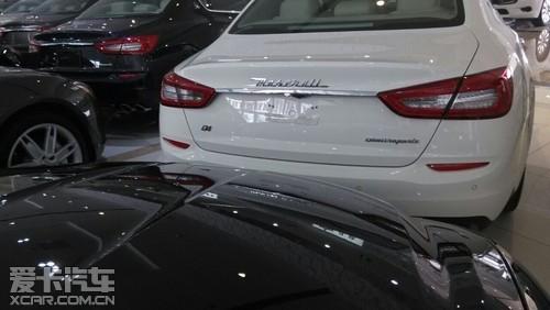 2014款玛莎拉蒂总裁四驱白色现车大促销高清图片
