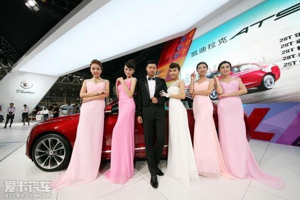 凯迪拉克闪耀2014青岛秋季国际车展