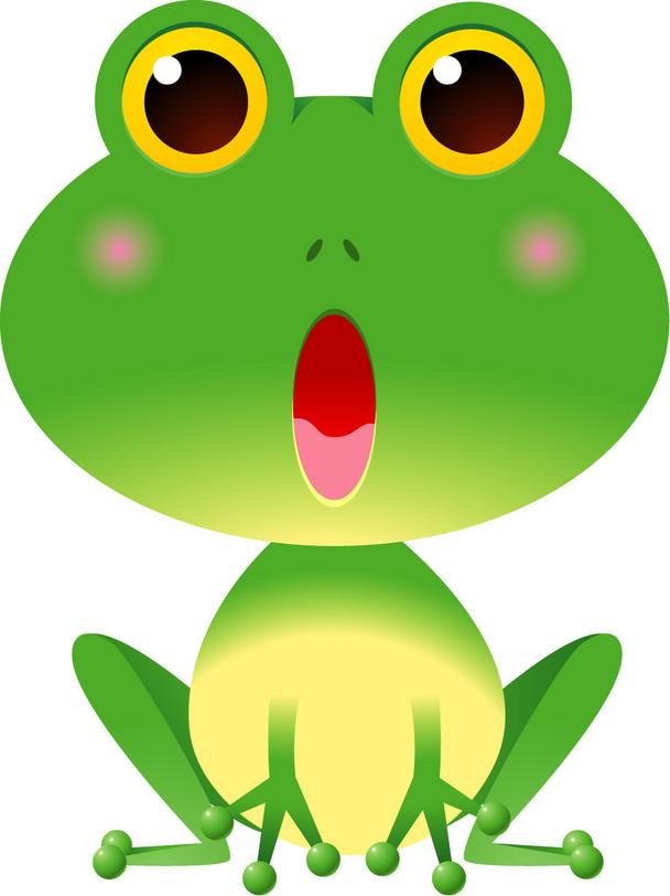 一个呆萌帅气的青蛙王子?