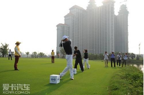 2014沃尔沃国际高尔夫挑战赛广西站精彩瞬间图片