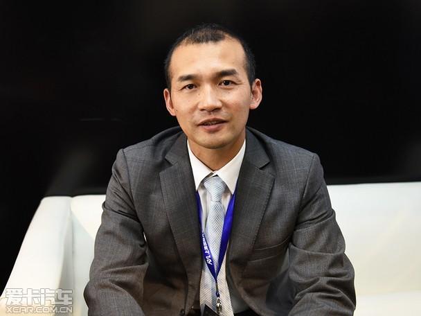 北汽泰普总裁黄雷