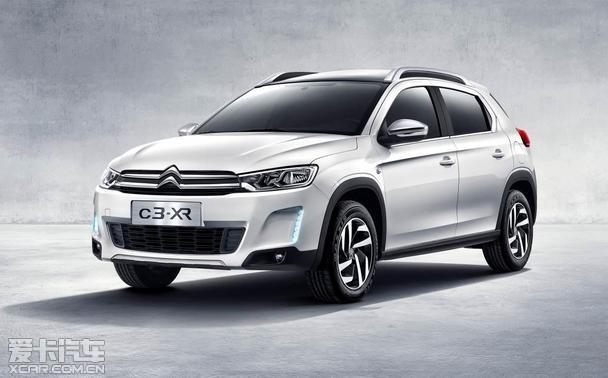 东风雪铁龙首款SUV C3 XR即将中国首秀高清图片