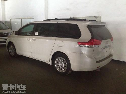 新款丰田塞纳商务车品质热卖现车再降价高清图片