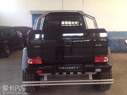 奔驰g63 amg 6x6多少钱 美规版现车全国首例 高清图片