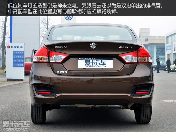 外观小结:根据官方的说法,铃木启悦是一款转为中国市场定制研发的车型