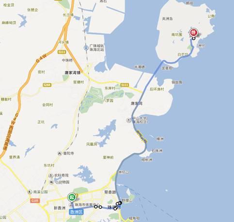 手机珠海地图导航