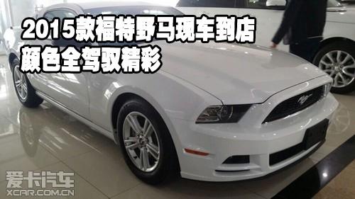 2015款福特野马现车到店颜色全驾驭精彩高清图片