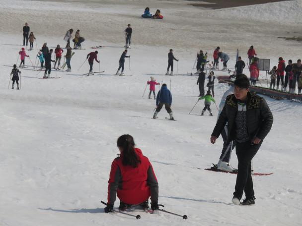 冬末滑雪之旅 威海斯巴鲁我们一起滑雪吧