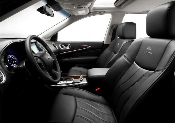 商务舱级豪华七座suv 英菲尼迪qx60 hybrid搭载2.5升机械增高清图片