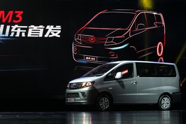 7座MPV 瑞风M3 新春齐鲁首发上市高清图片