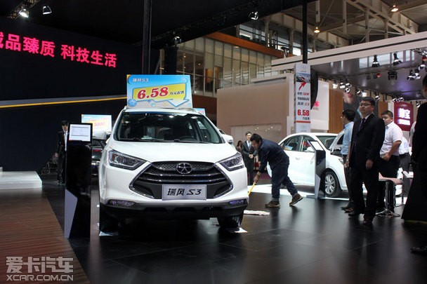 7座创客MPV 瑞风M3南京五一车展上市高清图片