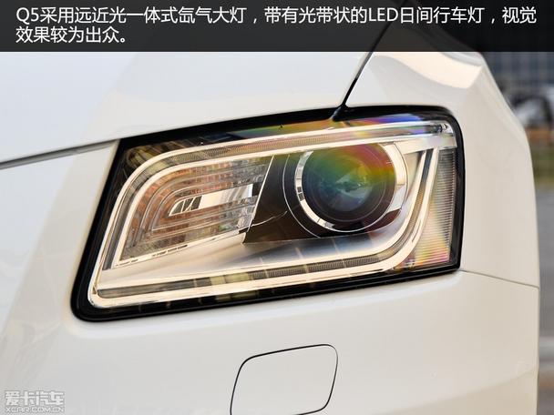 豪华SUV新对决 英菲尼迪QX50对比奥迪Q5高清图片