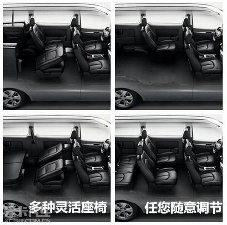 7座创客MPV瑞风M3到店送购车大礼包高清图片