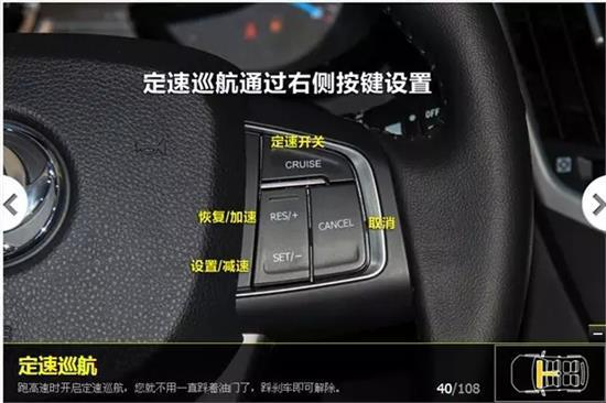 3)灯光控制在方向盘左侧拨杆上,各控制如下图高清图片