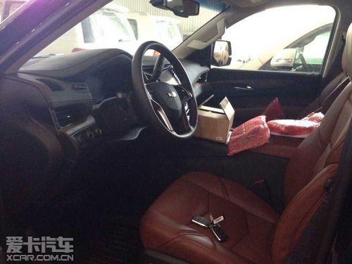 大灯组合令人第一时间联想到凯迪拉克的运动车型   15款凯迪高清图片