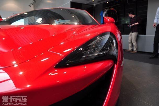 迈凯伦运动跑车540c广州上市