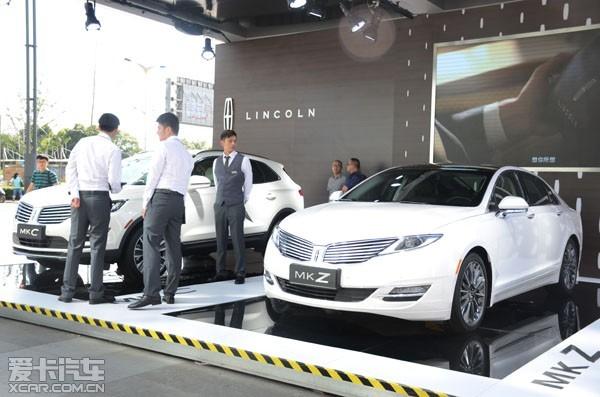登陆中国市场的全新林肯MKX以及MKZ和MKC林肯总统系列车型走