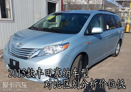 ???? 美规丰田塞纳价格多少钱北京最新报价