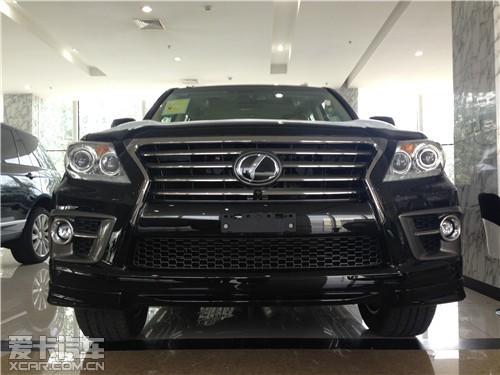 雷克萨斯lx570现车报价最低130万提 高清图片