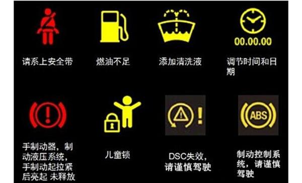 > 汽车故障灯标志图解_汽车故障灯标志大全  【陇南老司机】汽车仪表