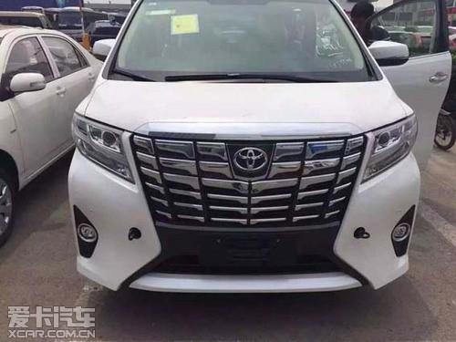 2016款丰田埃尔法现车已到天津抢手价位