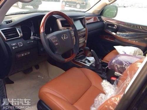 新款雷克萨斯5700天津港越野车集中促销 高清图片