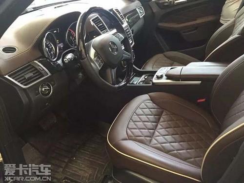 自贸区美规奔驰GL450 15款平行进口价低