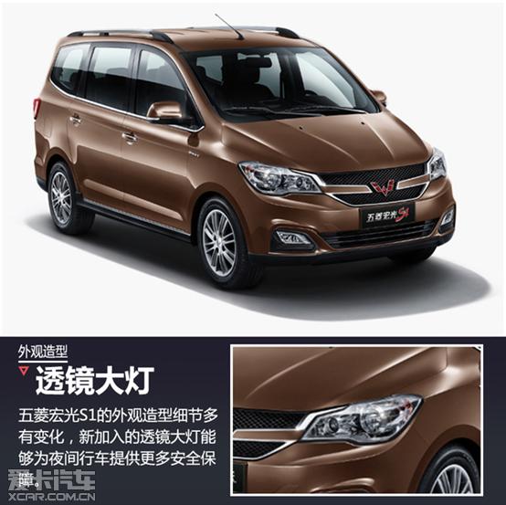 五菱宏光S1正式上市 售价6.08 6.98万高清图片