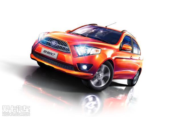 新款夏利N7-5万 6万买自动挡小车 谁是性价比之王高清图片