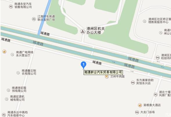 地点:南通市港闸区城港路57号 港闸区政府对面