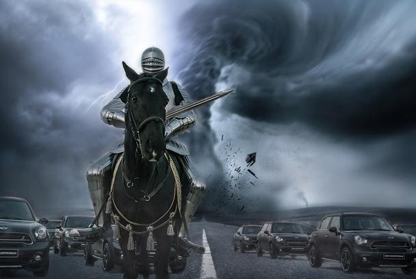 百万骑士战马开启MINI夜纯血虫害已护驾怎样绘制宝藏v骑士平面图图片