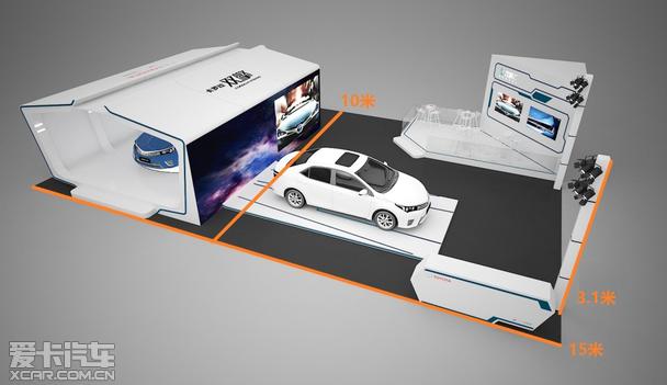 2015年厦门国际汽车展览 特色展具欣赏!