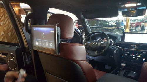 新款雷克萨斯LX570国外售价高清图片