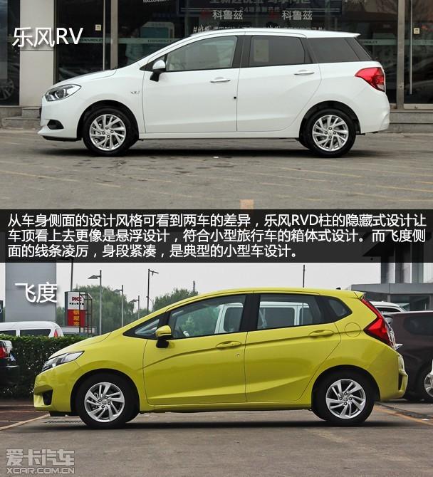 风格迥异的竞争者 乐风RV对比广本飞度高清图片