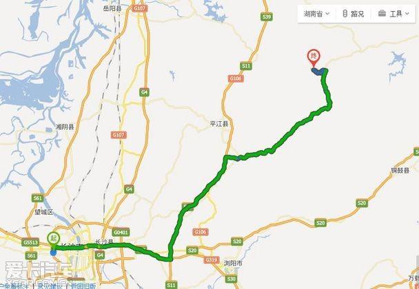 平江县城关镇地图
