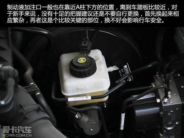 化论 教你看懂发动机舱那点事高清图片