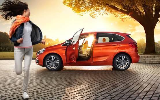 运通兴宝创新BMW 2系旅行车展厅开放日
