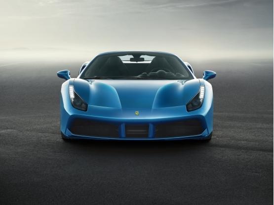 法拉利新款敞篷跑车488 Spider强势首发